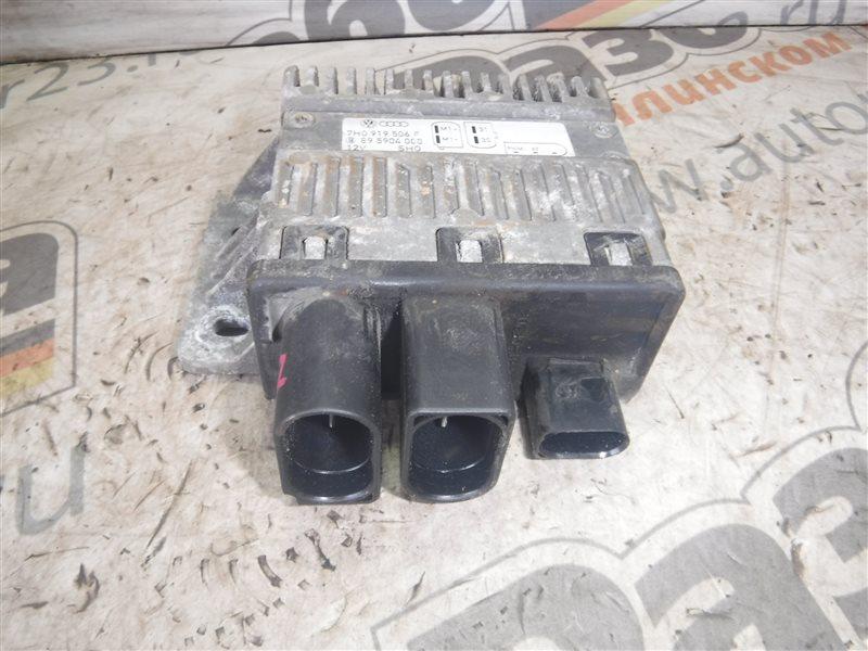 Блок управления вентилятором Vw Transporter T5 7HB BRR 2006