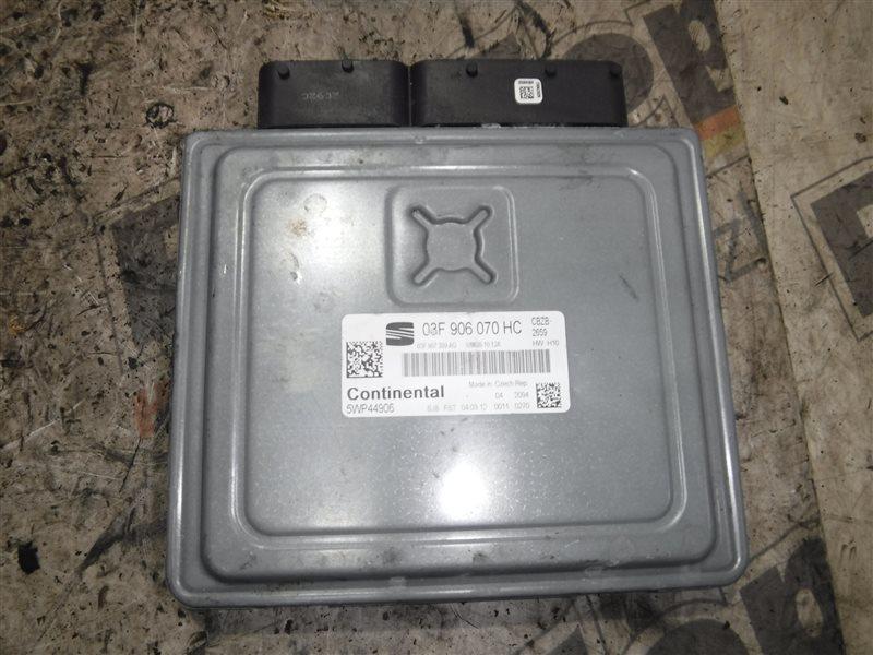 Блок управления двигателем эбу Seat Leon 1P1 CBZ 2013