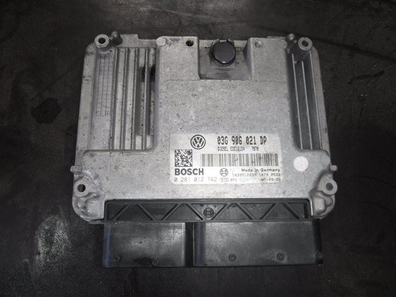 Блок управления двигателем эбу Vw Passat B6 3C5 BKC 2006