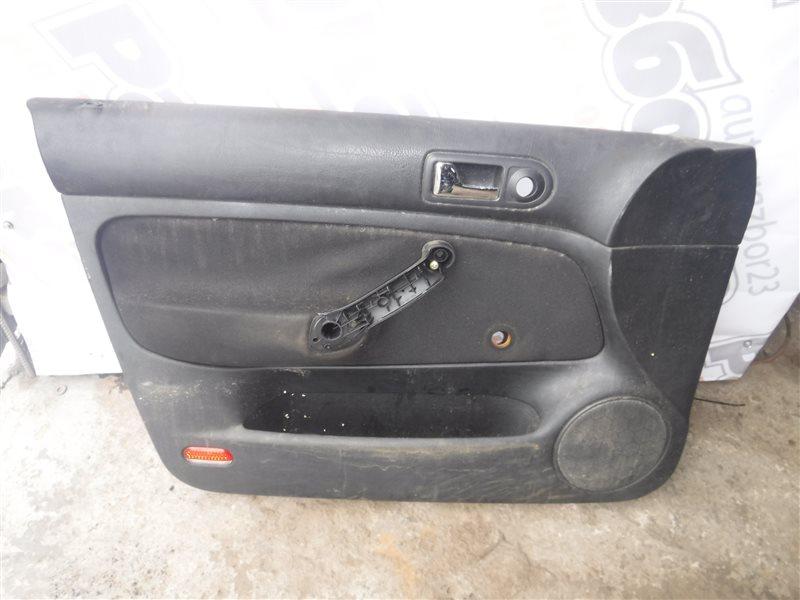 Обшивка двери (карта) Vw Golf 4 1J1 AKQ 1999 передняя левая
