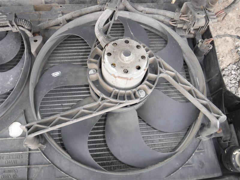 Вентилятор радиатора Vw Golf 4 1J1 AKL 1999 передний левый