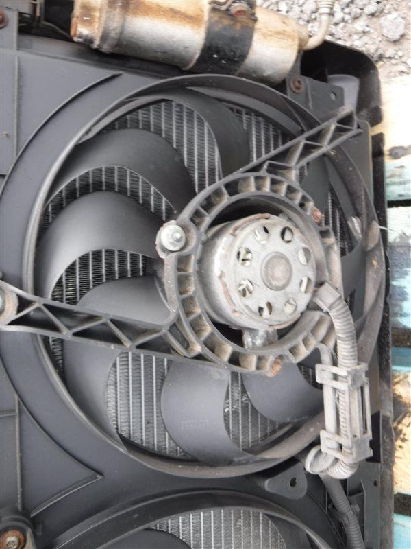 Вентилятор радиатора кондиционера Vw Bora 1J2 AQY 1999