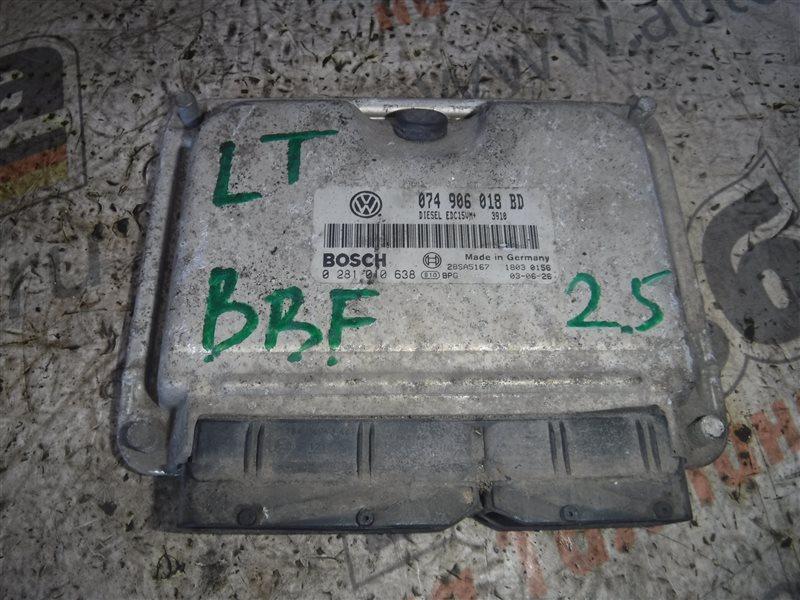 Блок управления двигателем эбу Vw Lt 2D BBF 2003
