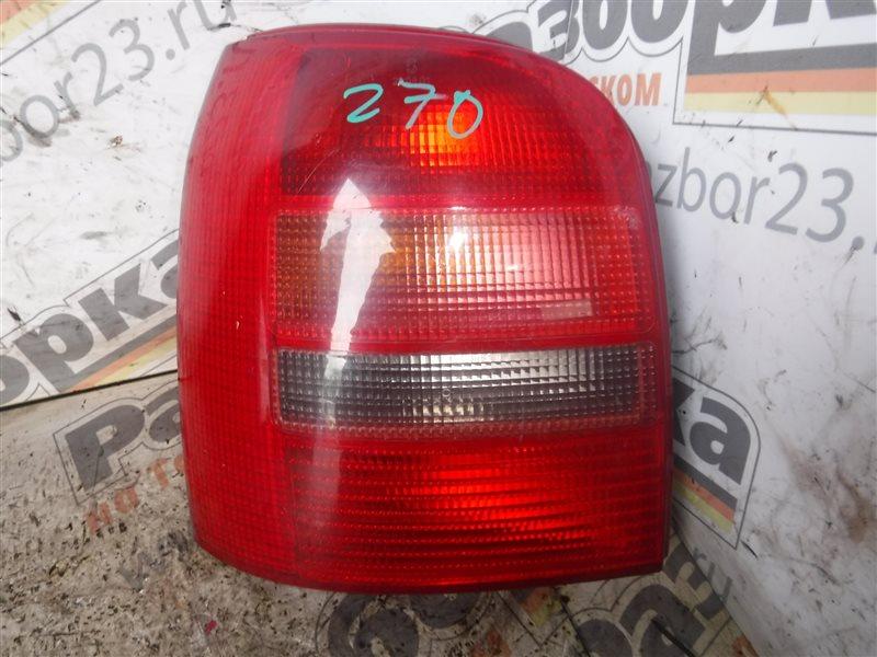 Фонарь задний Audi A4 B5 ADR 1995 задний левый