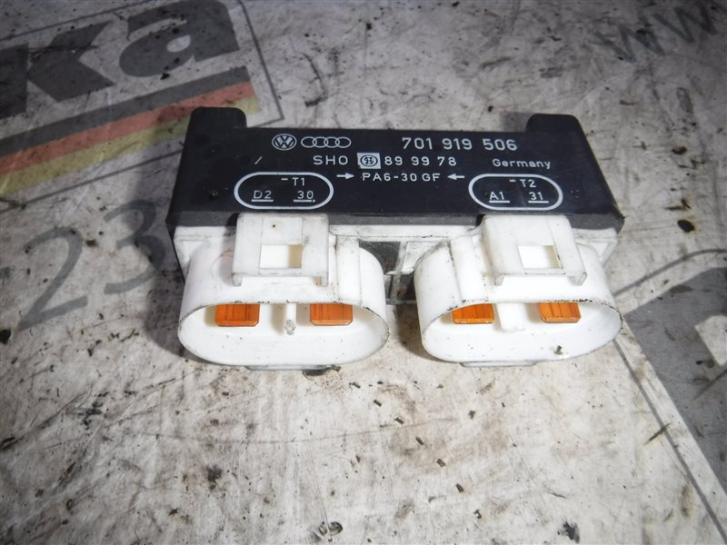 Реле включения вентиляторов Vw Transporter T4 7DB AAB 1991