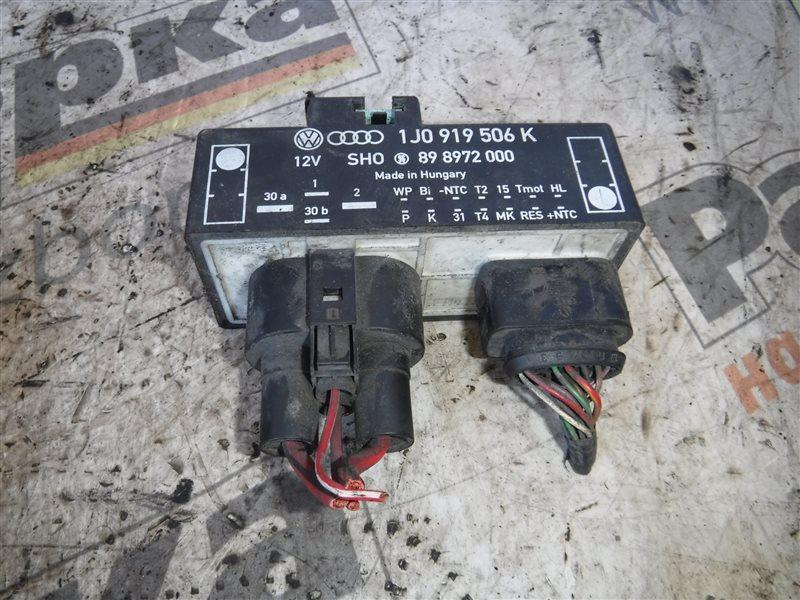 Блок управления вентилятором Vw Golf 4 1J1 BCA 2000