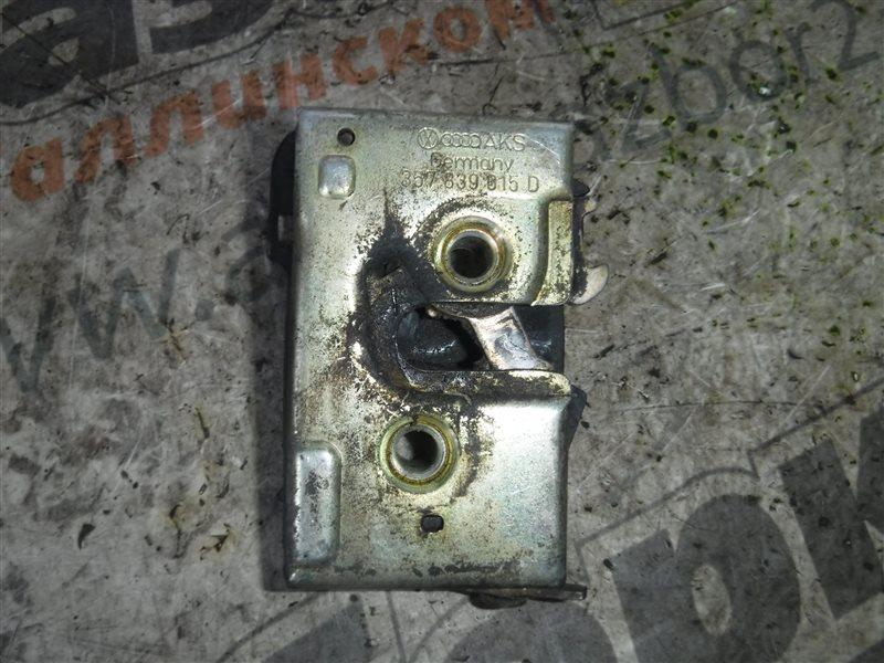 Замок двери Vw Passat B4 3A2 1Z 1995 задний левый