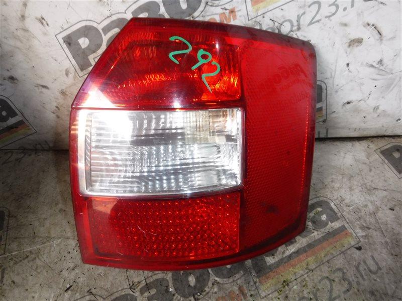 Фонарь задний Audi A4 B6 ALT 2003 задний правый