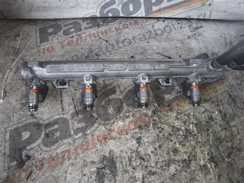 Топливный рельс с форсунками Vw Golf 4 1J1 AXP 2000