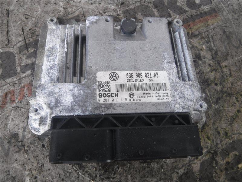 Блок управления двигателем эбу Vw Passat B6 3C5 BMP 2007