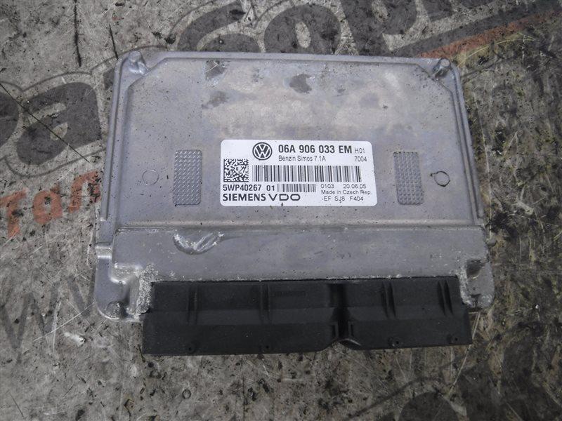 Блок управления двигателем эбу Vw Golf 5 1K1 BSE 2006