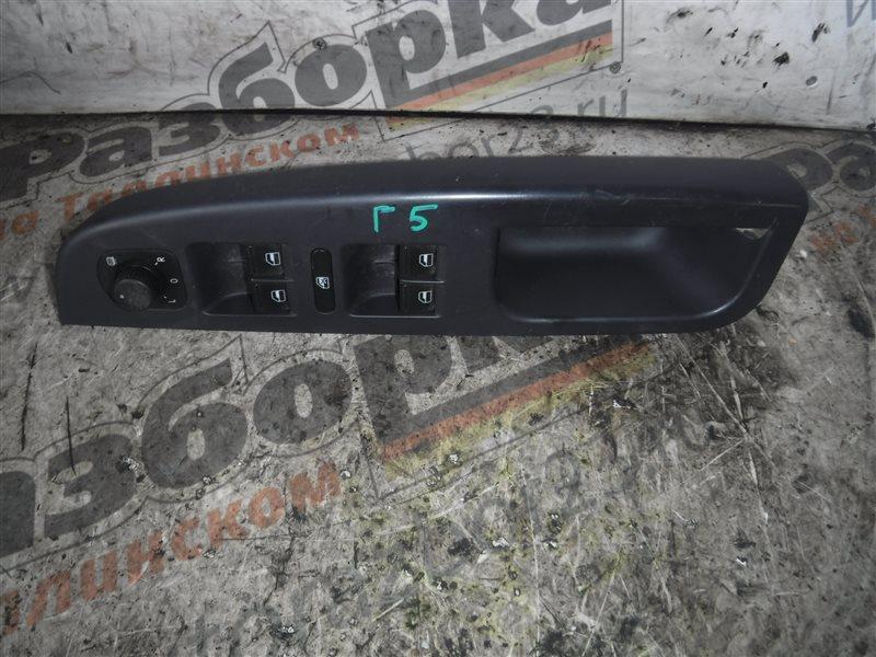 Кнопка стеклоподъемника Vw Golf 5 передняя левая