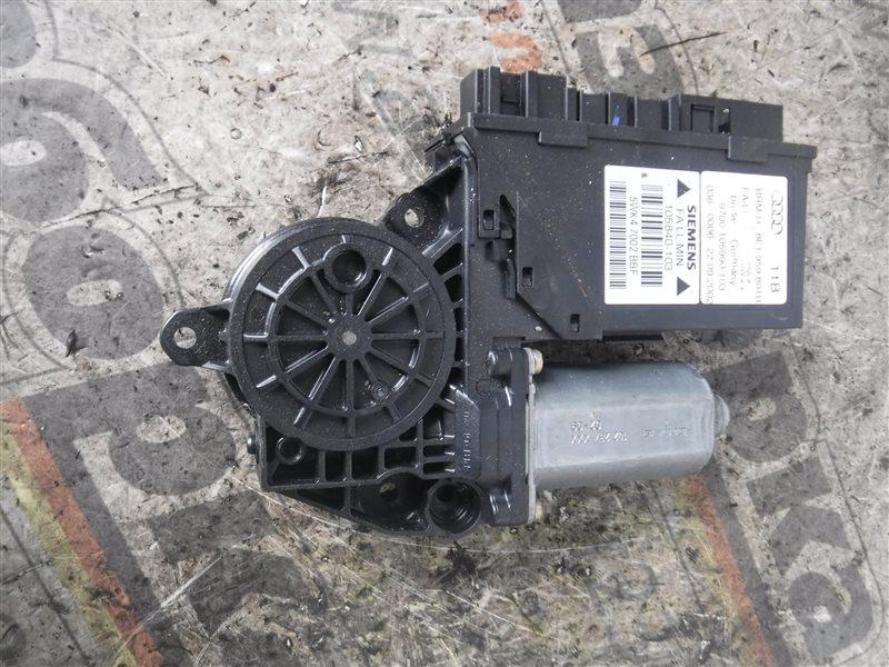 Мотор стеклоподъемника Audi A4 B6 AWX 2003 передний левый