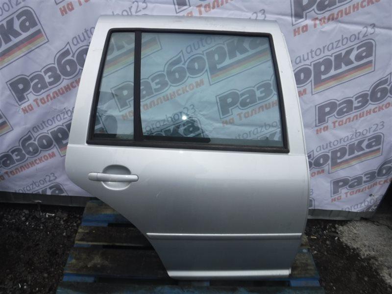 Дверь Vw Golf 4 1J1 AKQ 2000 задняя правая