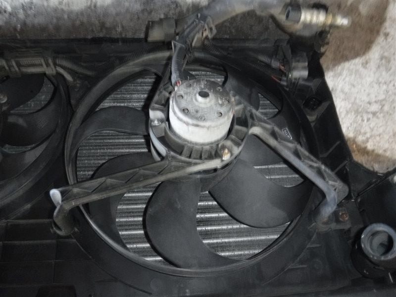 Вентилятор радиатора Vw Golf 4 1J1 AKL 2001 передний левый