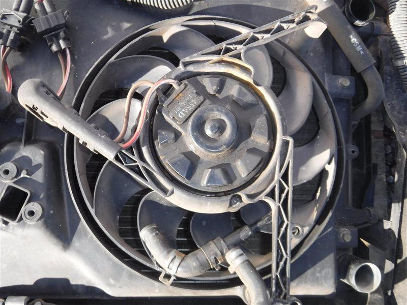 Вентилятор радиатора Vw Transporter T4 7DB AAB 1991 передний левый