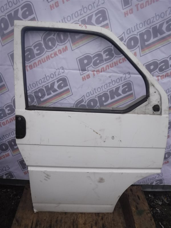 Дверь Vw Transporter T4 7DB ABL 1998 передняя правая