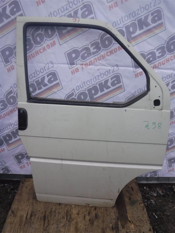 Дверь Vw Transporter T4 7DB ABL 1993 передняя правая