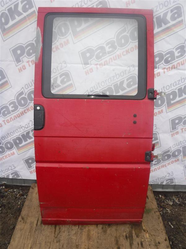 Дверь для дубль кабины Vw Transporter T4 7DB 1X 1991 правая