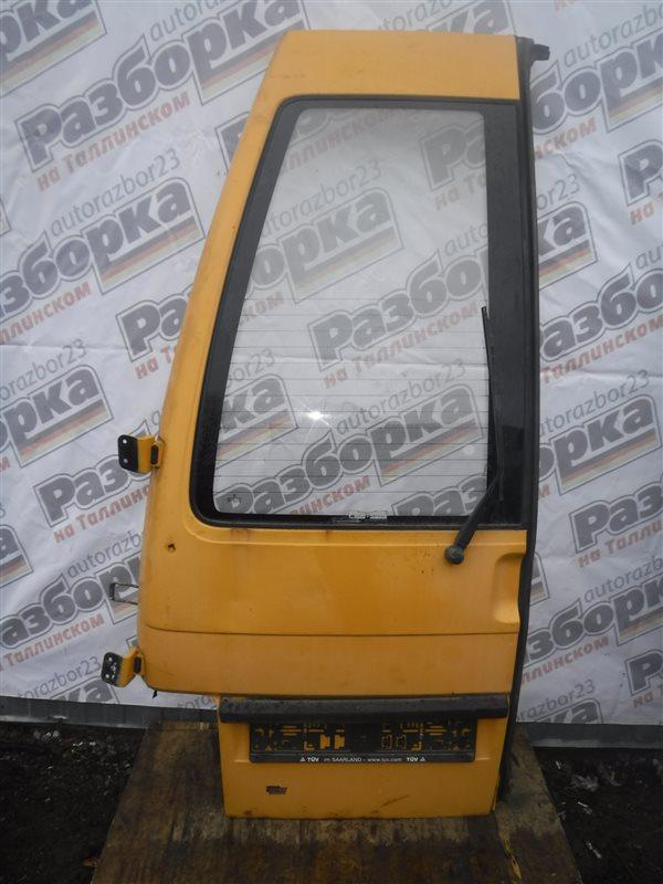 Дверь багажника Vw Transporter T4 7DB AJT 2000 задняя левая