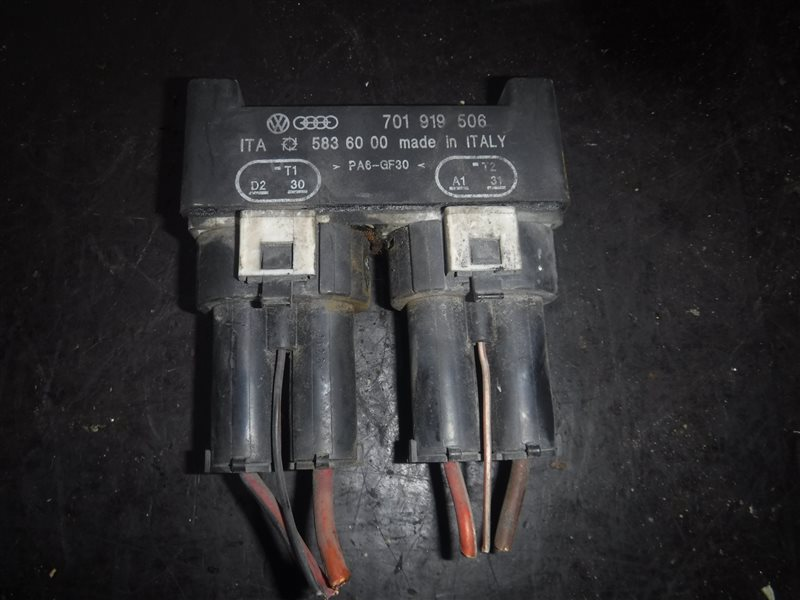 Реле включения вентиляторов Vw Transporter T4 7DB ABL 1991