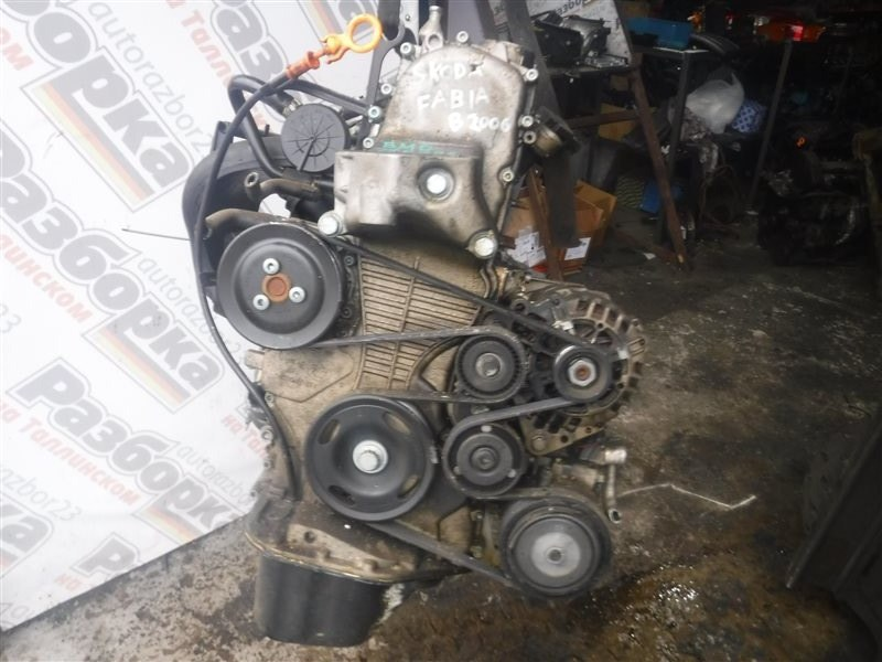 Двигатель Skoda Fabia 6Y2 BMD 2005