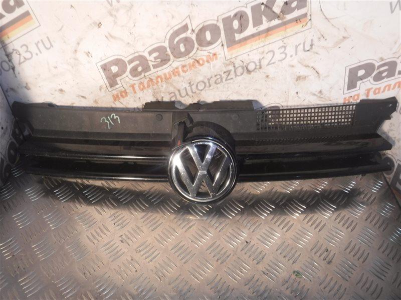 Решетка радиатора Vw Golf 4 1J1 BCA 2001 передняя
