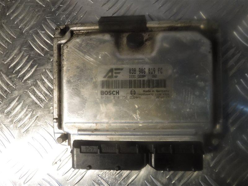 Блок управления двигателем эбу Vw Sharan 7M AUY 2003