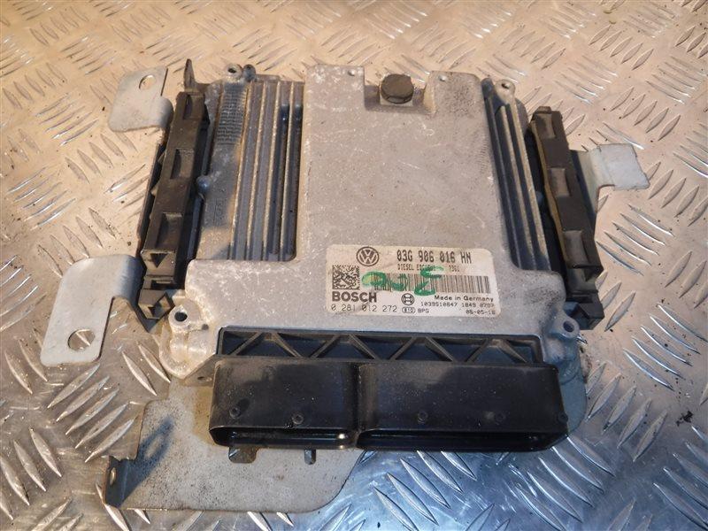 Блок управления двигателем эбу Vw Caddy 2KB BST 2005