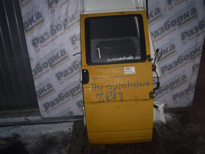 Дверь Vw Transporter T4 70XD AAB 1995 правая