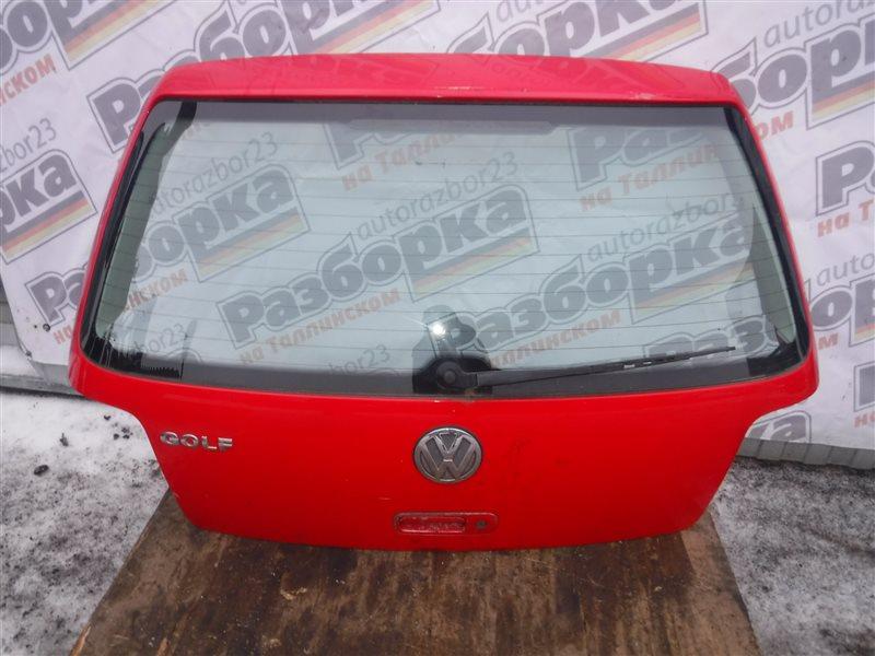 Дверь багажника Vw Golf 4 1J1 AKQ 2000 задняя