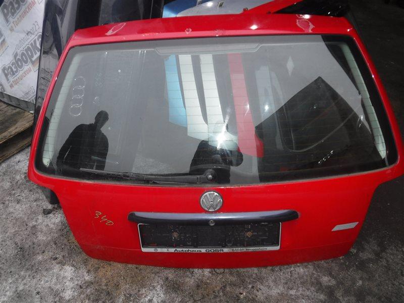 Дверь багажника Vw Passat B5 3B5 AHL 1999