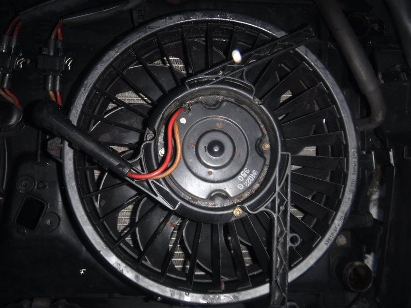 Вентилятор радиатора Vw Transporter T4 7DA ABL 2001 передний левый