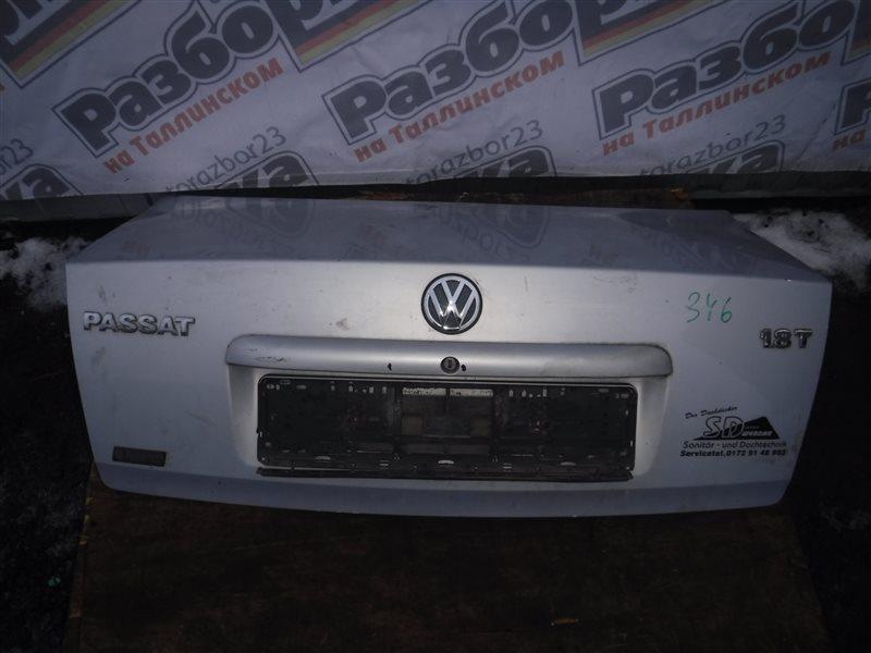 Крышка багажника Vw Passat B5 3B5 ADR 1998 задняя