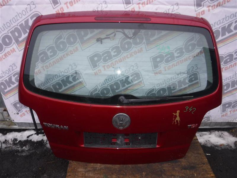 Дверь багажника Vw Touran 1T AZV 2004