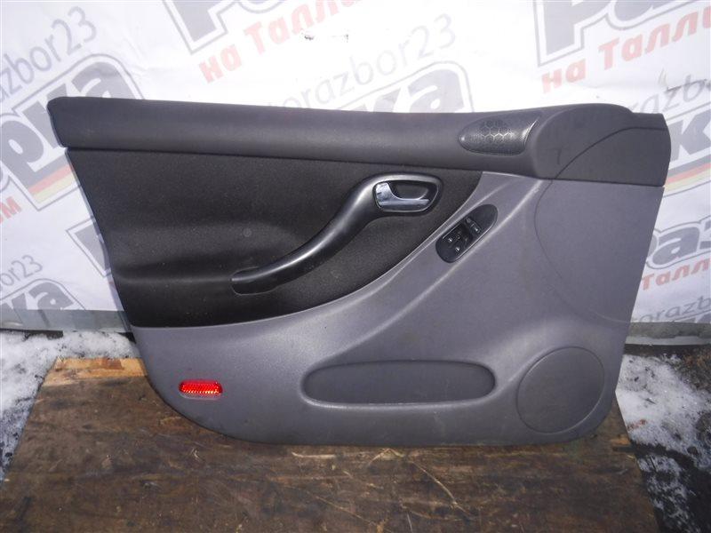 Обшивка двери (карта) Seat Leon 1M BCB 2003 передняя левая