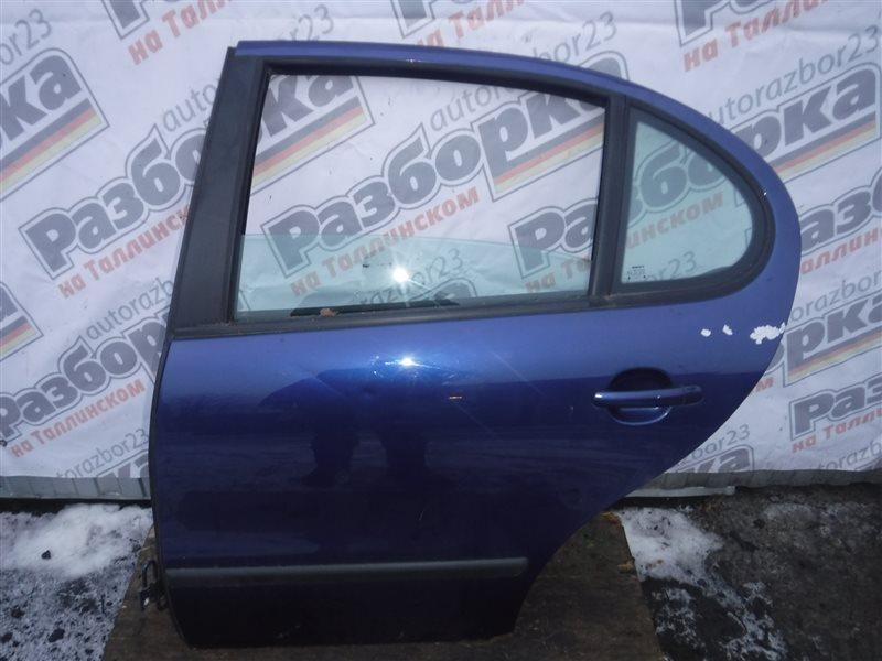 Дверь Seat Leon 1M BCB 2003 задняя левая