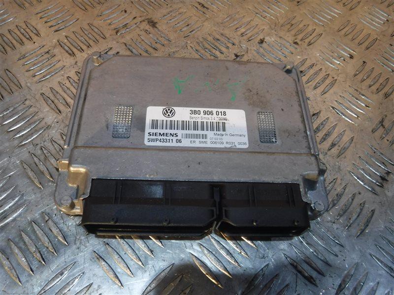 Блок управления двигателем эбу Vw Passat B5 3B5 ANA 2001