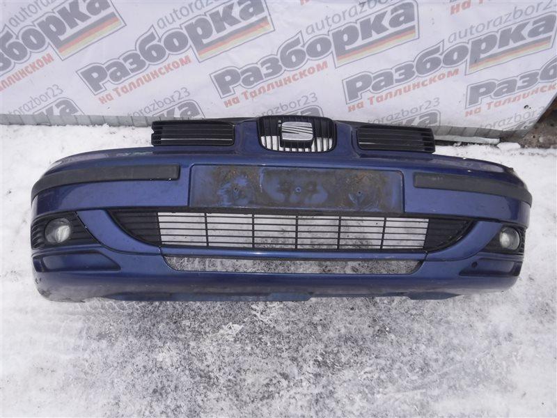 Бампер Seat Leon 1M BCB 2003 передний