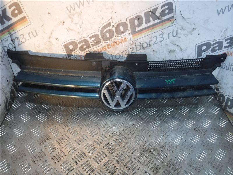Решетка радиатора Vw Golf 4 1J1 AKQ 2000