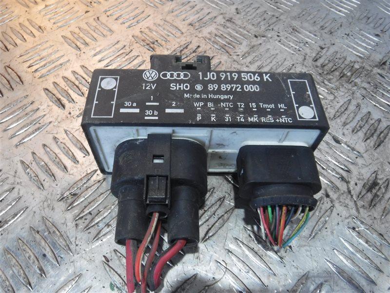 Блок управления вентилятором Vw Golf 4 1J1 BCA 2003