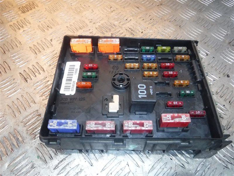 Блок предохранителей Vw Passat B6 3C5 BMR 2007