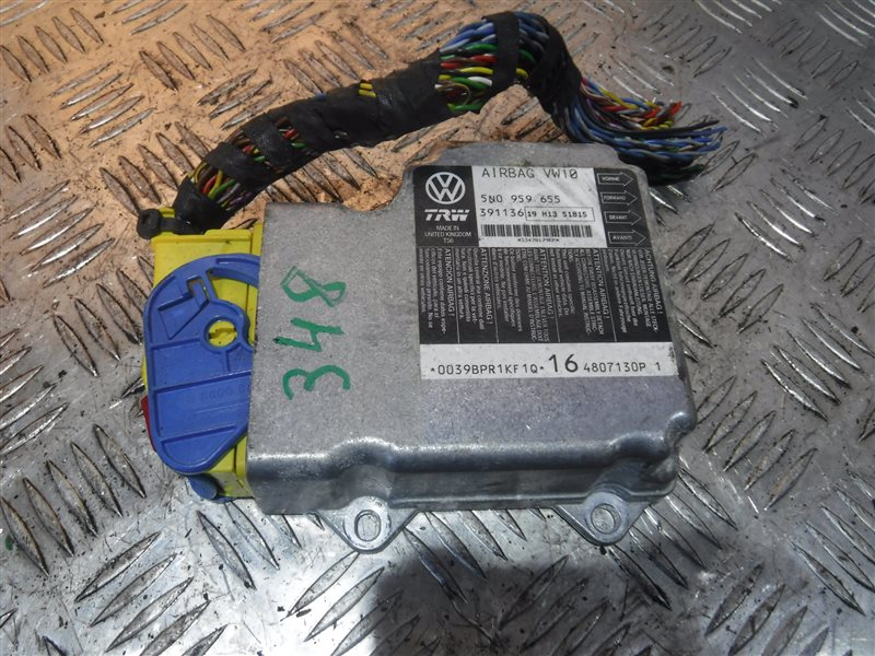 Блок srs Vw Passat B6 3C5 BMR 2007