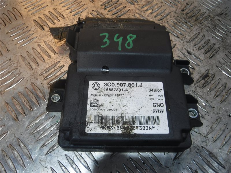 Блок управления стояночным тормозом Vw Passat B6 3C5 BMR 2007