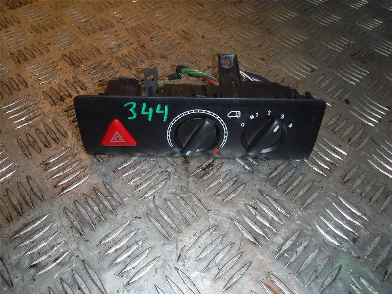 Блок управления отопителем Vw Transporter T5 7HB AXD 2004 задний