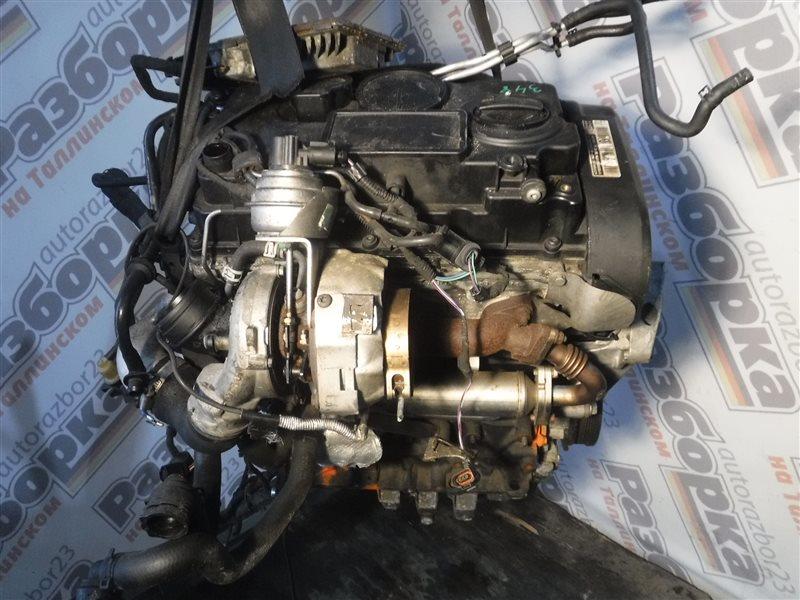 Двигатель Vw Passat B6 3C5 BMR 2007