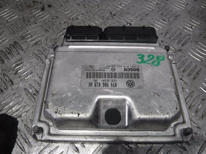 Блок управления двигателем эбу Vw Transporter T4 7DA AJT 2001