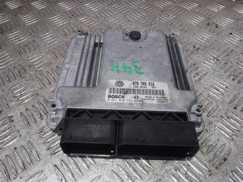 Блок управления двигателем эбу Vw Transporter T5 7HB AXD 2004