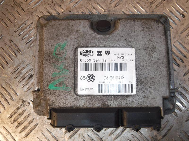 Блок управления двигателем эбу Vw Golf 4 1J1 AJQ 1999