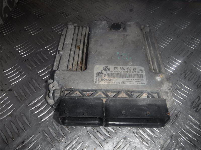 Блок управления двигателем эбу Vw Crafter 2E0 BJK 2007